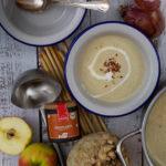 Rezept für eine Apfel-Sellerie-Suppe