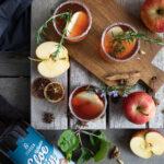 Rezept für Apfel-Winter-Gin
